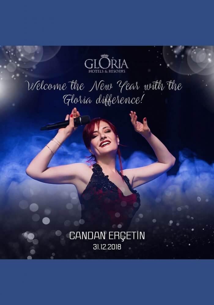 Gloria Hotels & Resorts 2019 Yılbaşı Programı