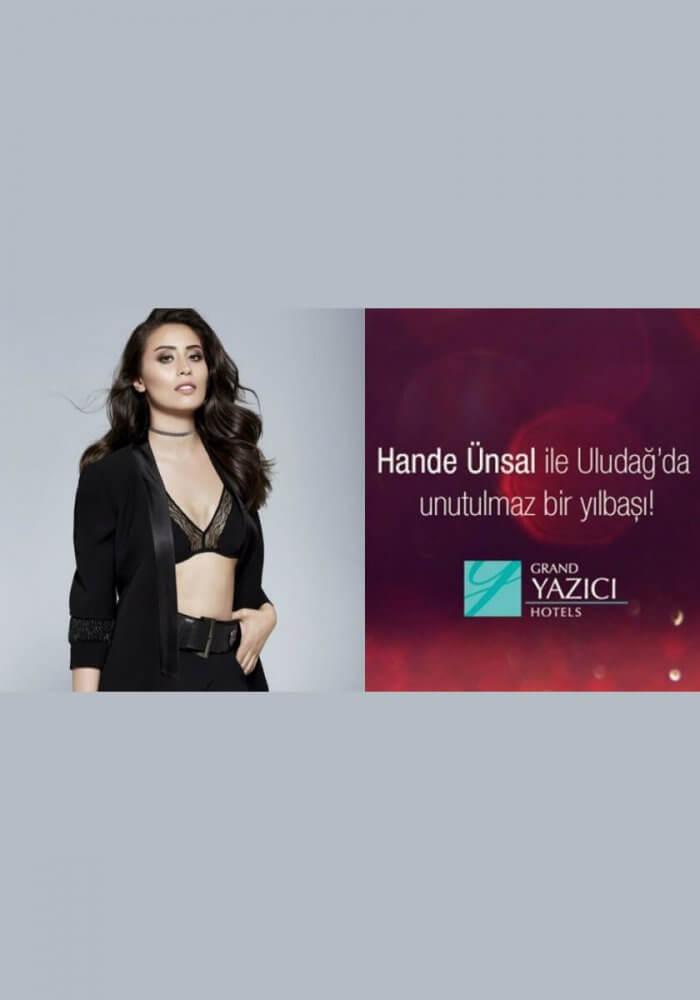 Grand Yazıcı Uludağ Hotel Yılbaşı 2018