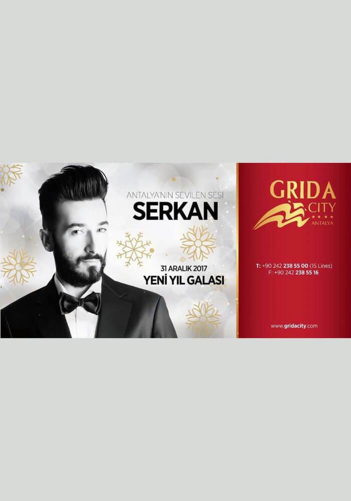 Grida City Otel Yılbaşı 2018