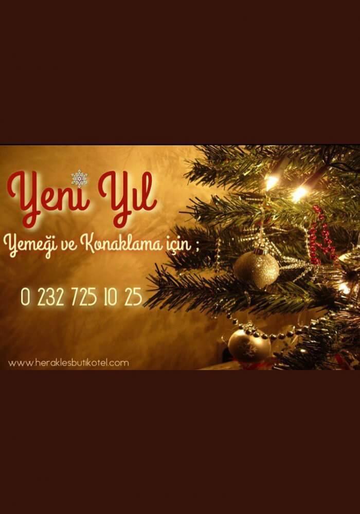 Herakles Butik Otel Restaurant Yılbaşı 2018