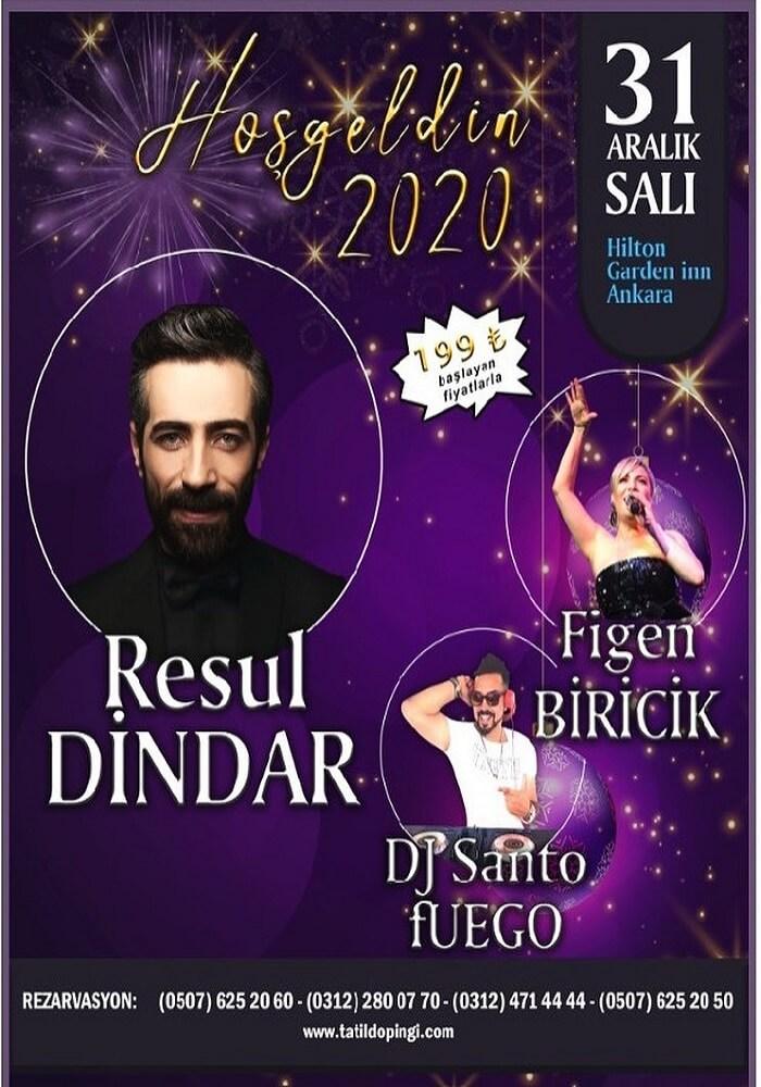 Hilton Garden Inn Hotel Ankara Yılbaşı Programı 2020