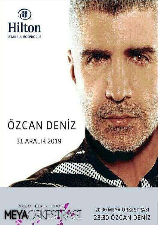Özcan Deniz ile Hilton İstanbul Bosphorus Yılbaşı Programı 2020