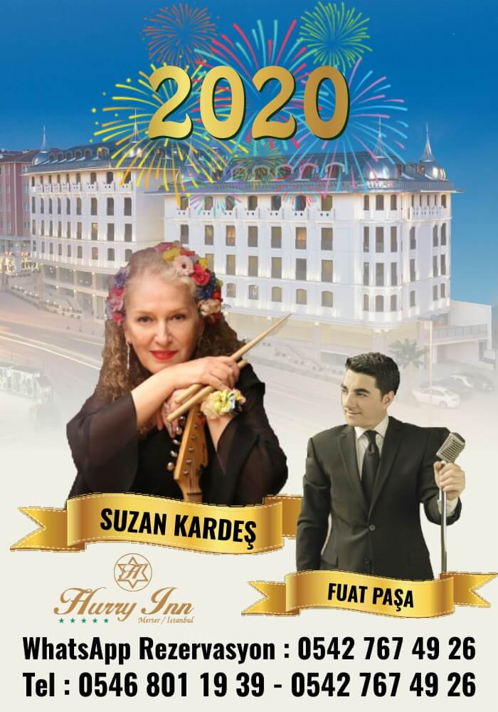 Hurry Inn İstanbul Yılbaşı Programı 2020
