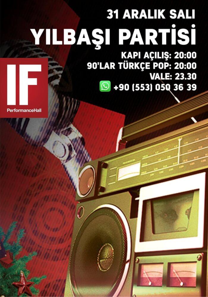 if Performance Hall Ankara Tunus Yılbaşı Programı 2020