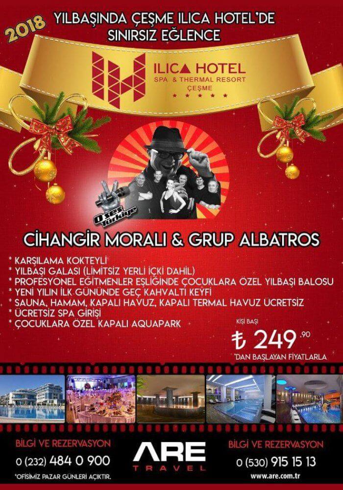 Ilıca Hotel Çeşme Yılbaşı 2018
