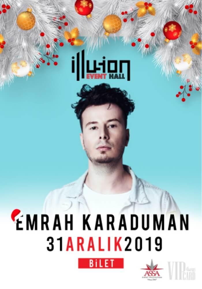 İllusion Event Hall Antalya Yılbaşı Programı 2020