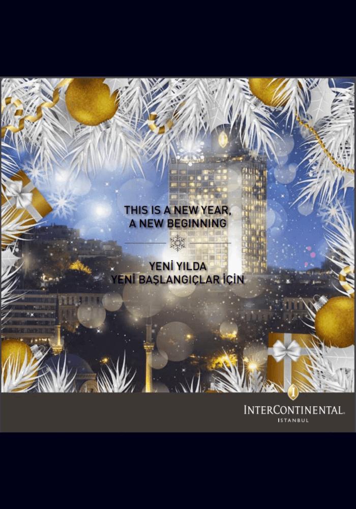 InterContinental İstanbul Yılbaşı 2018