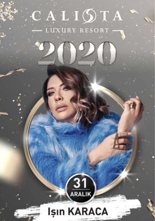 Işın Karaca 2020 Yılbaşı Programı Calista Luxury Resort Belek Antalya