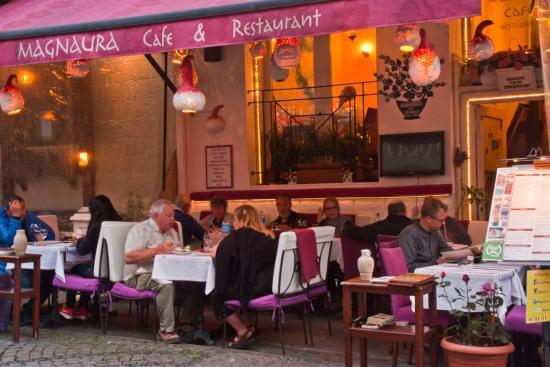 3. Magnaura Cafe & Bar