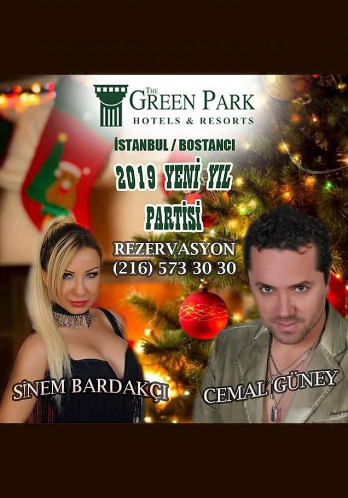 İstanbul Bostancı Green Park Hotel 2019 Yılbaşı Programı