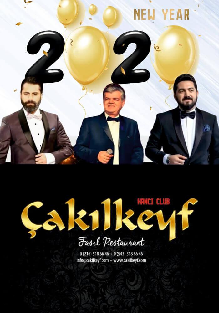İstanbul Çakılkeyf Fasıl Restaurant Yılbaşı Programı 2020