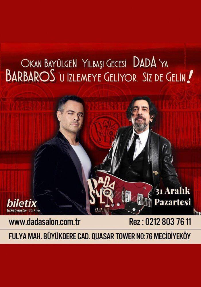 İstanbul Dada Salon Kabarett 2019 Yılbaşı Gecesi