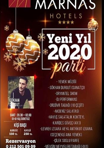 İstanbul Marnas Hotel Yılbaşı Programı 2020