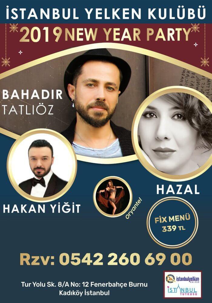 İstanbul Yelken Kulübü 2019 Yılbaşı Programı
