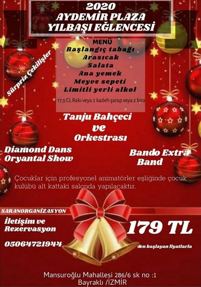 İzmir Aydemir Plaza Yılbaşı Programı 2020