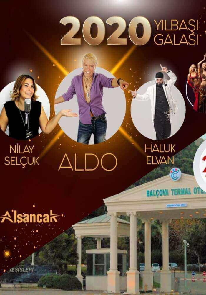 İzmir Balçova Termal Otel Yılbaşı Programı 2020