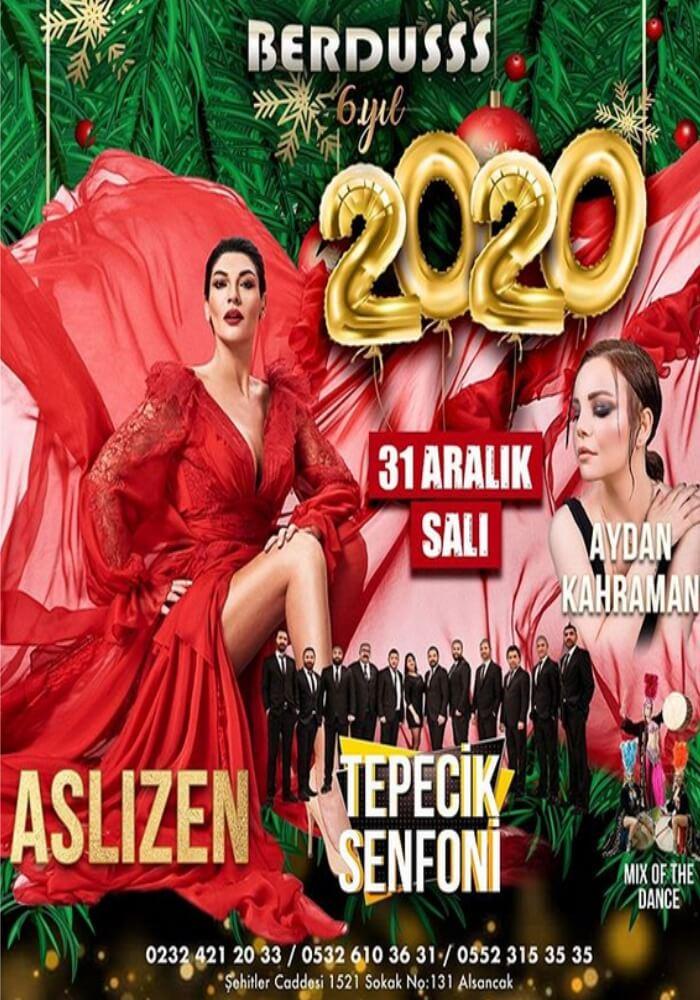 İzmir Berduş Meyhane Yılbaşı Programı 2020