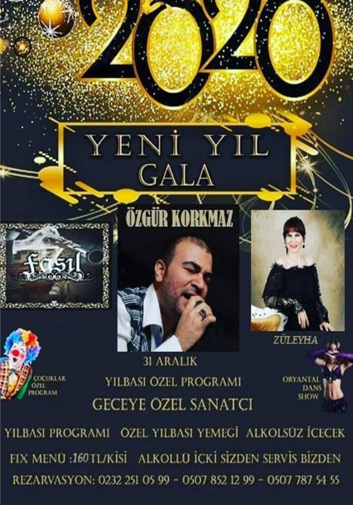 İzmir Bizim Bahçe Yılbaşı Programı 2020