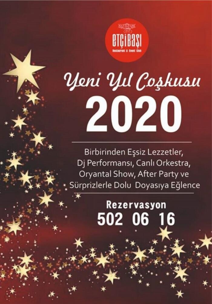 İzmir Etçibaşı Hayalpark Yılbaşı Programı 2020