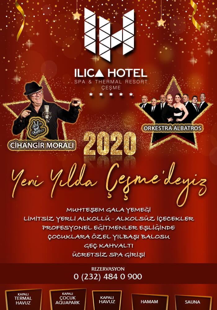 İzmir Ilıca Hotel Çeşme 2020 Yılbaşı Programı