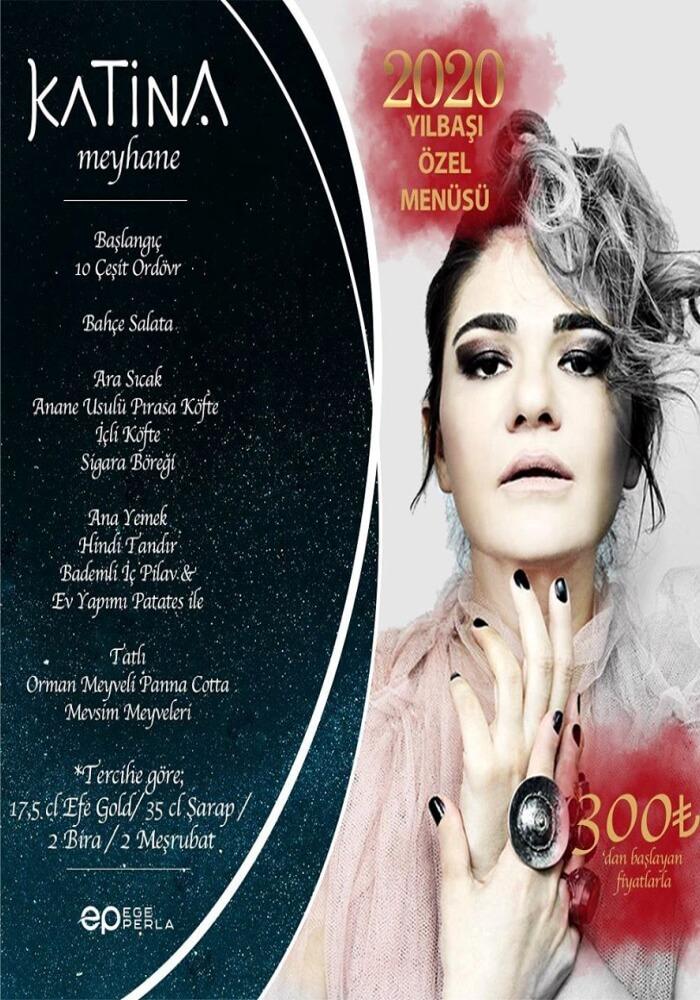 İzmir Katina Meyhane Yılbaşı Programı 2020