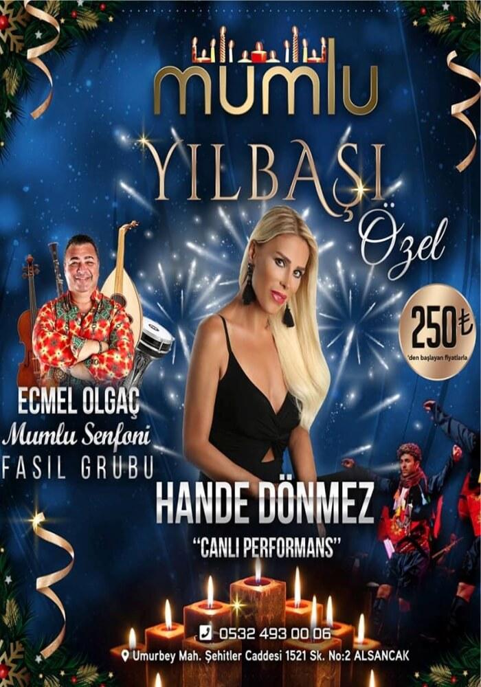 İzmir Mumlu Meyhane Yılbaşı Programı 2020