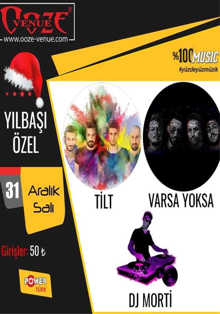 İzmir OOze Venue Yılbaşı Programı 2020
