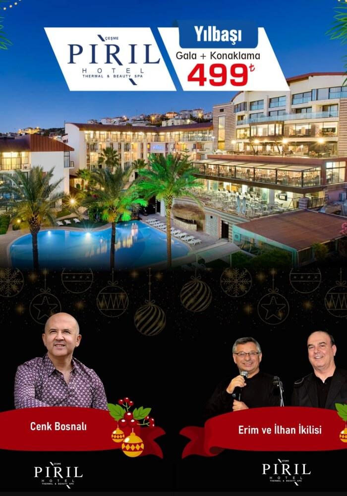İzmir Pırıl Hotel Çeşme Yılbaşı Programı 2020