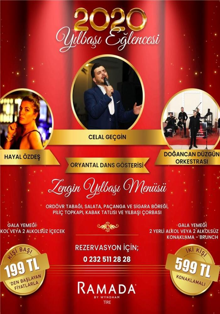 İzmir Ramada by Wyndham Tire Yılbaşı Programı 2020