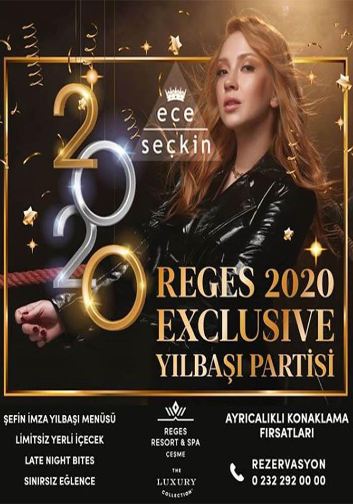 İzmir Reges a Luxury Collection Resort Spa Çeşme Yılbaşı Programı