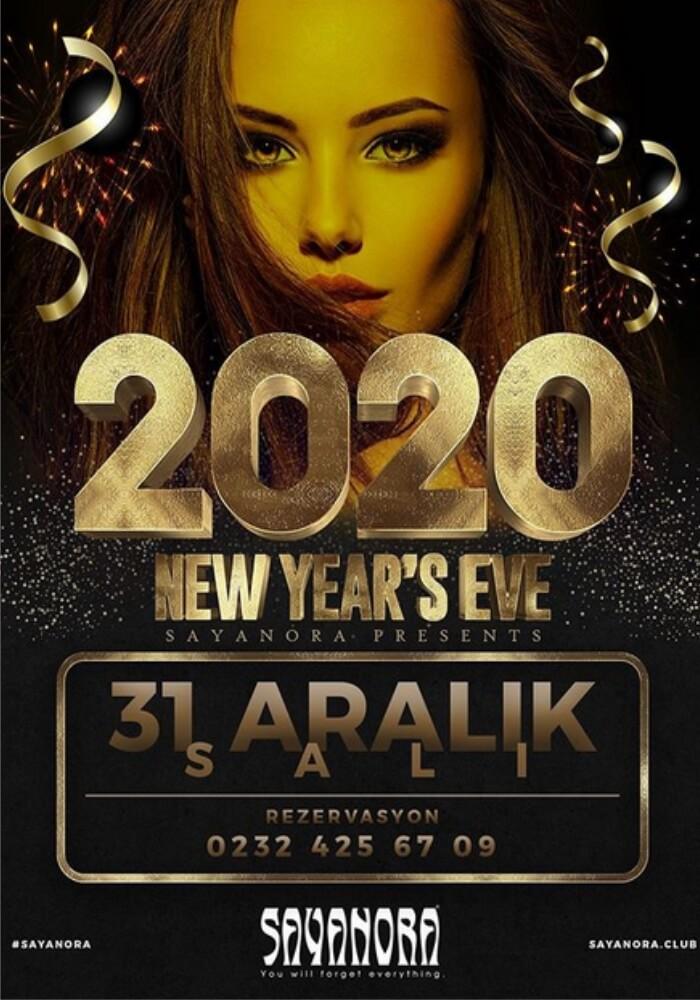 İzmir Sayanora Club Yılbaşı Programı 2020