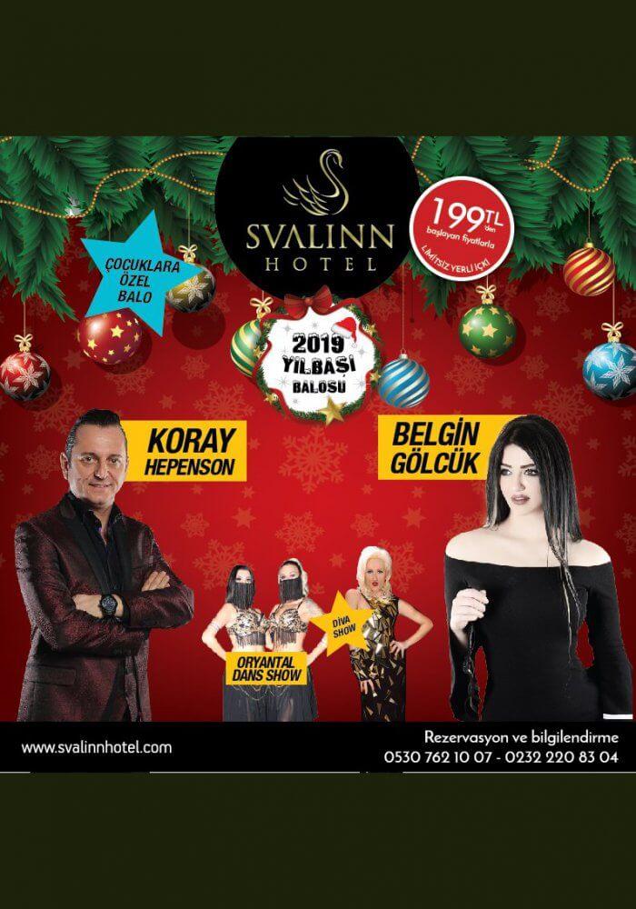 İzmir Svalinn Otel Yılbaşı 2019 Programı
