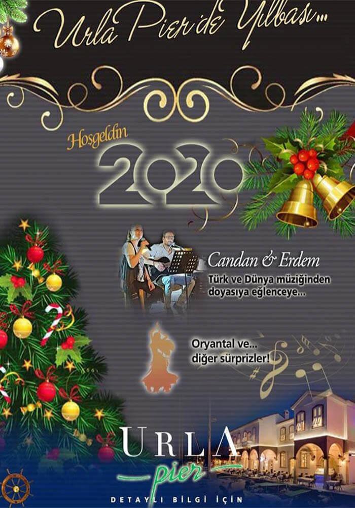 İzmir Urla Pier Hotel 2020 Yılbaşı Programı