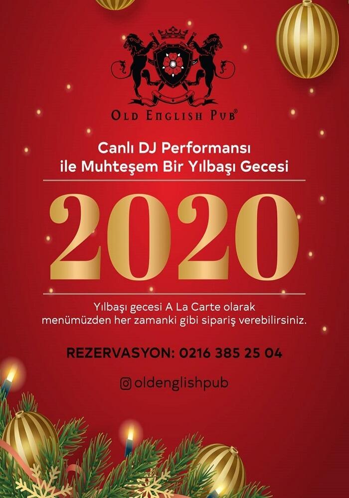 Kadıköy Old English Pub Yılbaşı Programı 2020