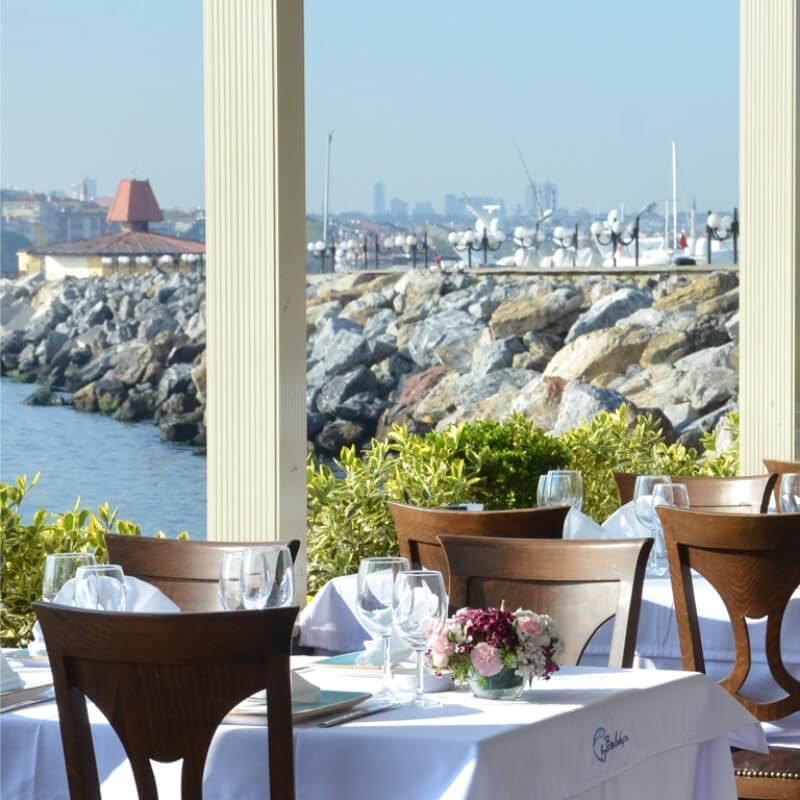 Kalamış Paysage Restaurant İstanbul