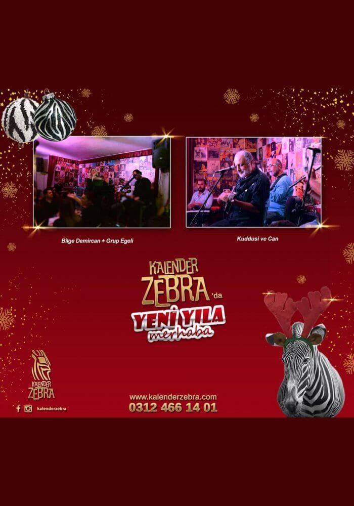 Kalender Zebra Meyhane Ankara Yılbaşı Programı 2019