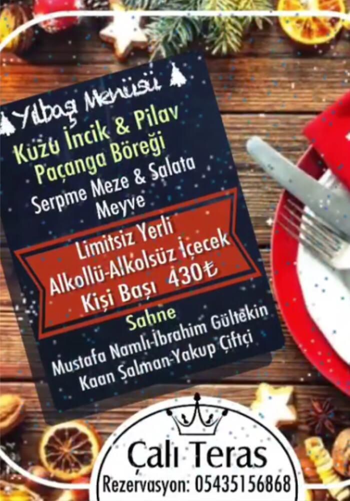 Kapadokya Avanos Çalı Teras Restaurant Yılbaşı Programı 2020