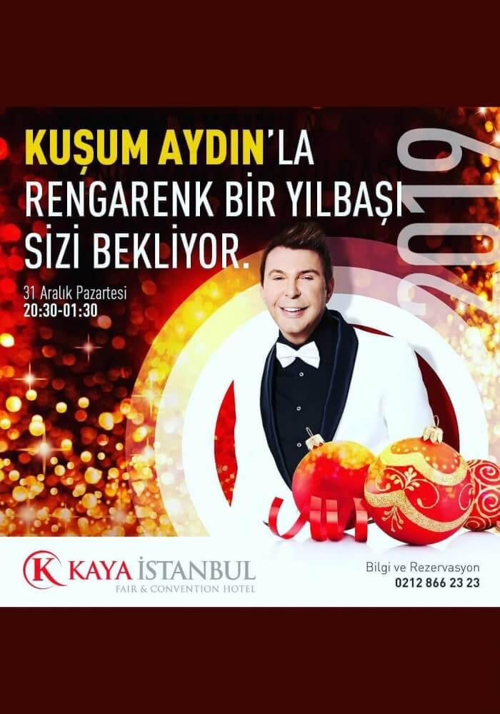 Kaya İstanbul Fair & Convention Hotel 2019 Yılbaşı Programı