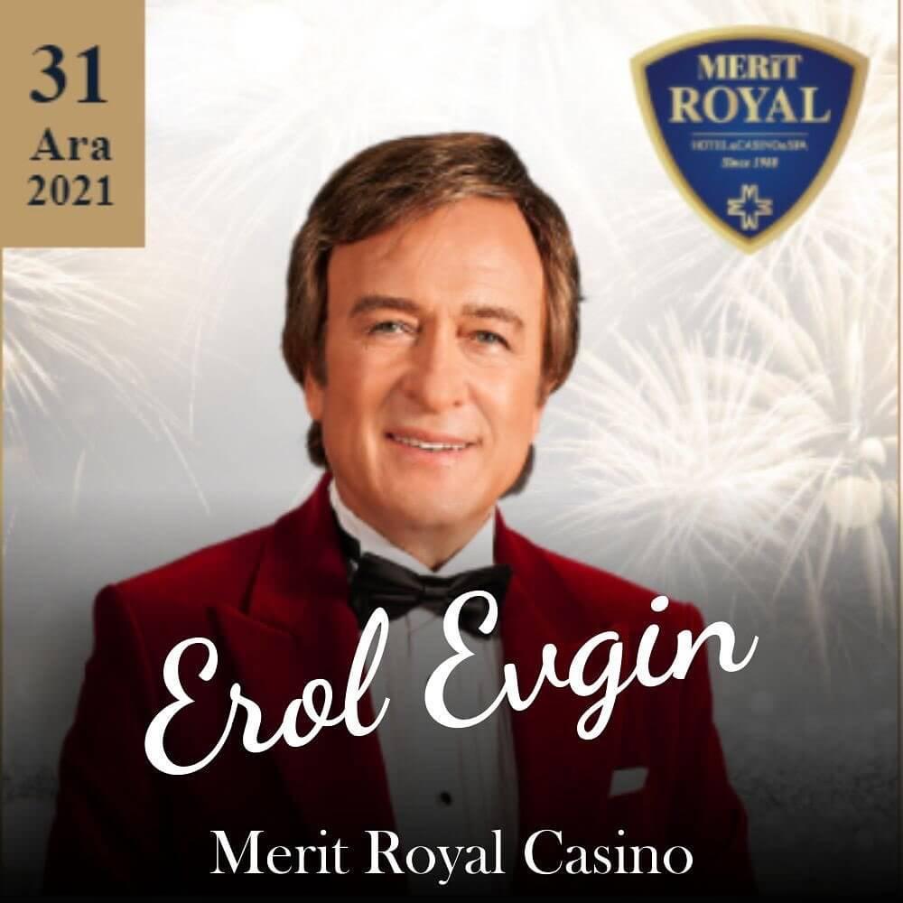 Kıbrıs Merit Royal Hotel & Casino Yılbaşı Programı 2022