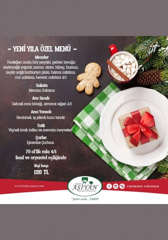Körfez Aşiyan Restaurant Antalya Yılbaşı 2018