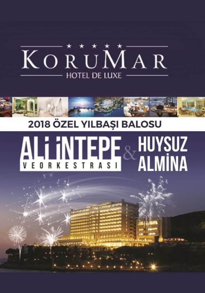 Korumar Hotel Deluxe Yılbaşı 2018