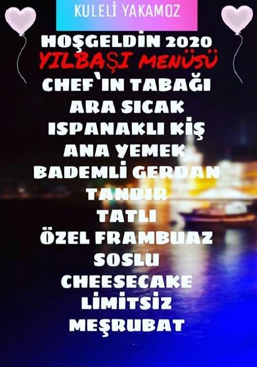 Kuleli Yakamoz Restaurant İstanbul Yılbaşı Programı 2020