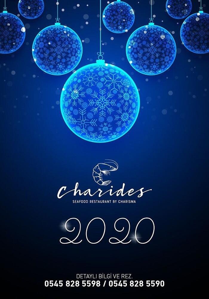 Kuşadası Charides Restaurant Yılbaşı Programı 2020