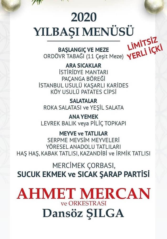 Lagos Balık Restaurant Adana Yılbaşı Programı 2020