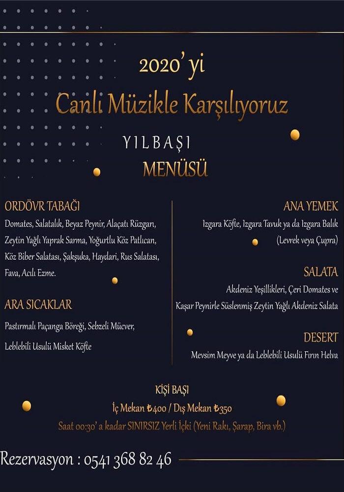 Leblebili Meyhane İzmir Yılbaşı Programı 2020