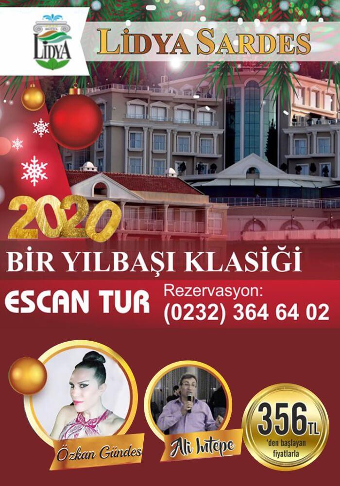 Lidya Sardes Hotel Thermal Spa Yılbaşı Programı 2020