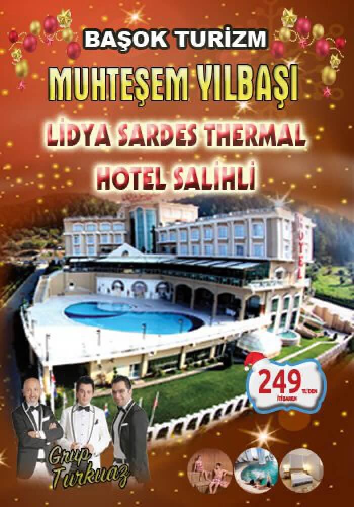 Lidya Sardes Hotel Yılbaşı 2018