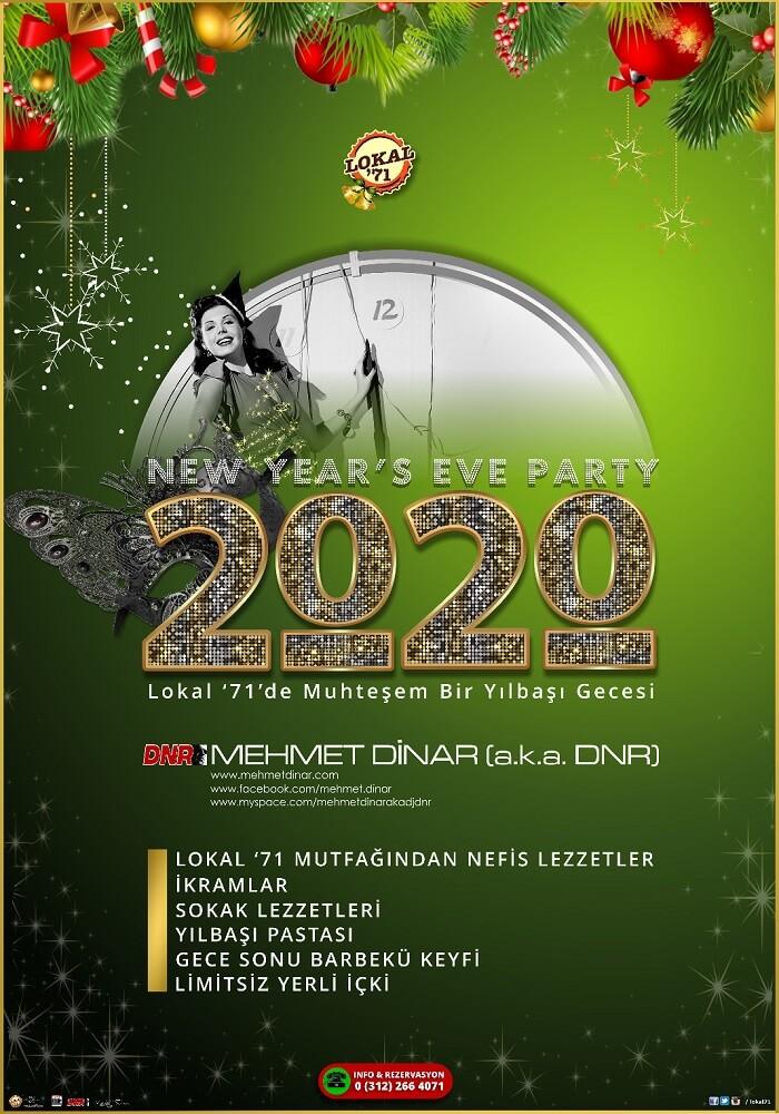 Lokal '71 Ankara Bilkent Yılbaşı Programı 2020