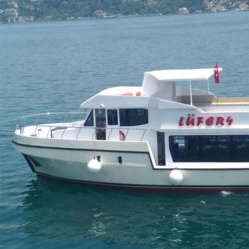 Lüfer Boğazda Teknede