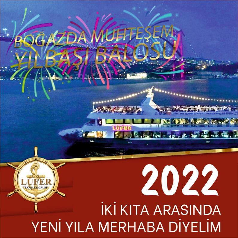 Lüfer Tekneler Grubu Yılbaşı Programı 2022